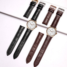 General Leather Purpose Watch Strap band Genuine strap Bamboo 12mm 14mm 16mm 18mm 20mm 22mm 24mm