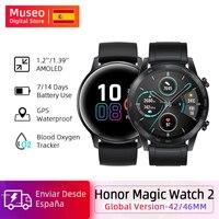 Global Version Honor Magic Watch 2 Smart Watch Bluetooth 5.1 42MM/46MM Up to 14 Days Waterproof Sport Watch Dual Mode