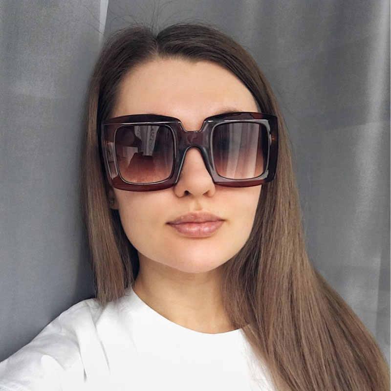 Men Women Ladies UV400 Square Oversized Large Desinger Sunglasses Sun Glasses
