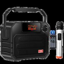 50W Altoparlanti Bluetooth Altoparlante Portatile Allaperto Con Telecomando Altoparlante di Controllo Big Power Stereo Altoparlante di Sostegno TF AUX USB