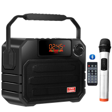 Altavoces Bluetooth de 50W para exterior, parlantes portátiles con mando a distancia, altavoz estéreo de gran potencia con soporte para tarjeta TF, AUX y USB