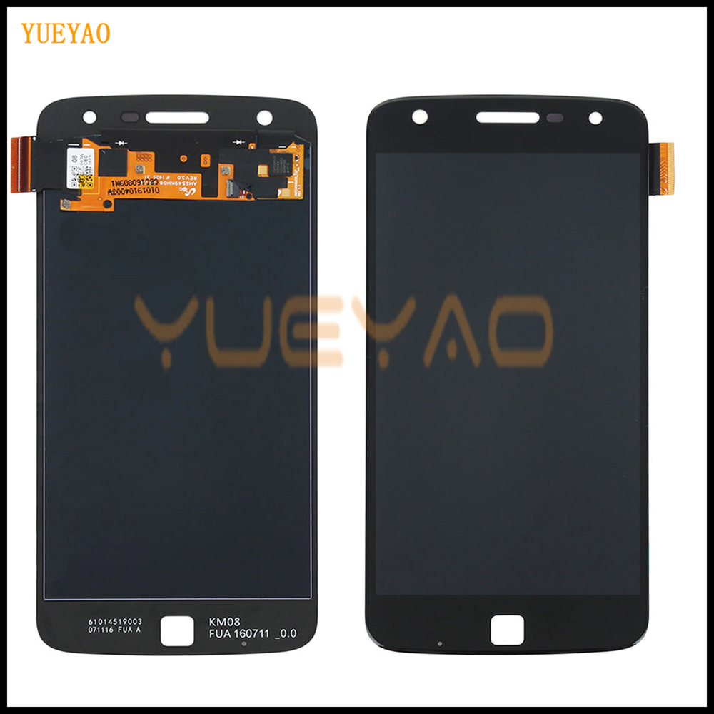 Tracking No. 100% tested OLED For Motorola Moto Z Play LCD For <font><b>XT1635</b></font> <font><b>Display</b></font> LCD Screen Touch Digitizer Assembly image
