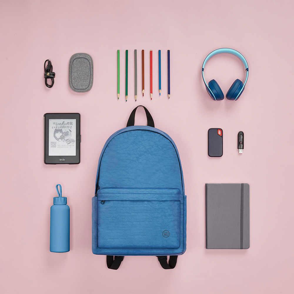 NINETYGO 90FUN młody plecak dla dziewczynek i chłopców pojemność 15L kolorowa para mochila Fashion lekka tornister