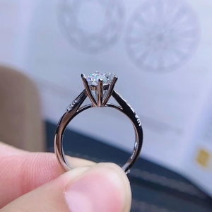 Image 4 - [Meibapjモアッサナイト、カラットスーパーホット販売、に匹敵するダイヤモンド、絶妙な技能