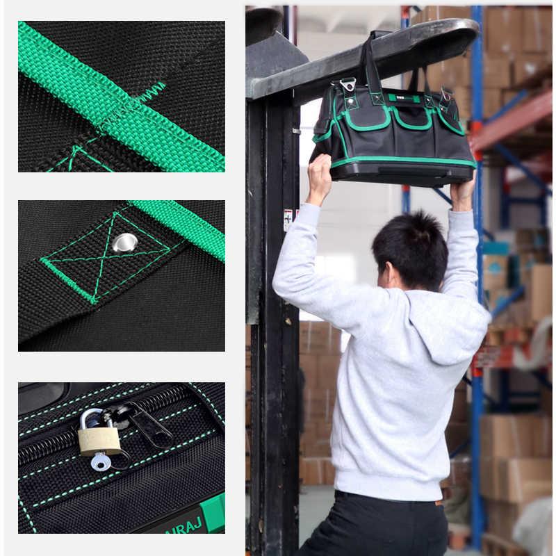 AIRAJ 16/18 дюймов сумка для инструментов большая емкость резиновое дно Ткань Оксфорд водонепроницаемый Набор инструментов Электрический мешок хранения