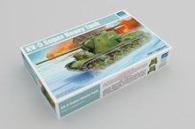 цена на Trumpeter 1/35 05552 Russian KV-5 Super Heavy Tank Military Display Toy Plastic Assembly Building Model Kit