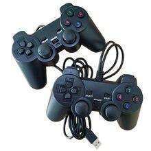 Проводной usb контроллер геймпад для ps 2 джойстик ПК видеоигровые