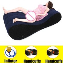 Sex Sofa Inflatable Bed Love Sex Chair Pillow Inflatable Sofa Sexual Positions Erotic Adult Sex Furniture Sex Toy for Couple Hot стоимость