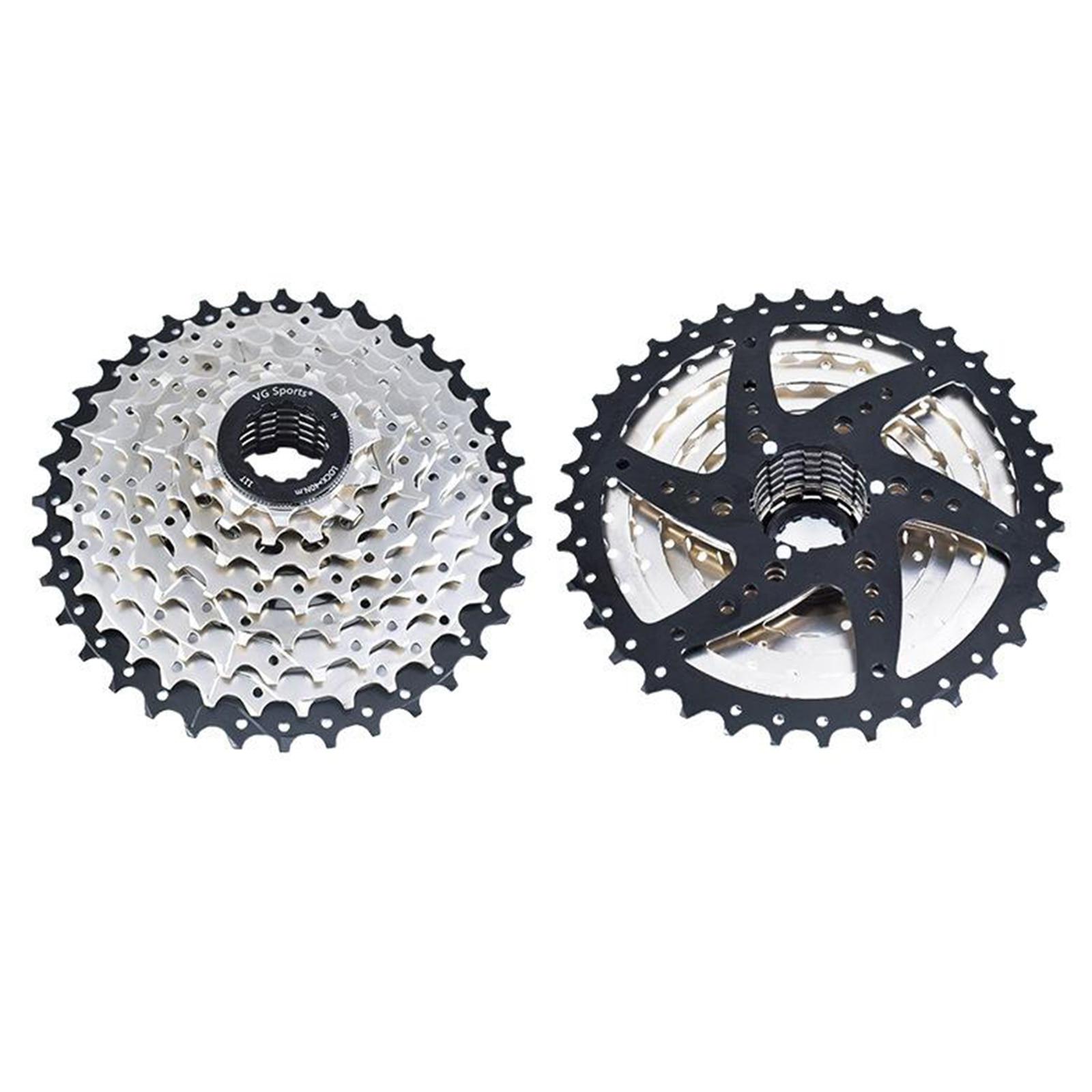 Road Bike Freewheel  8/9/10 Speed 11-32T Bicycle Cassette Sprocket Aluminum alloy Flywheel Mountain Bike Bicycle Part