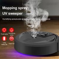 2021 nueva oferta de desinfección UV Robot de barrido inteligente de piso de succión barredora mopa aspiradora robótica arrastrando Robot
