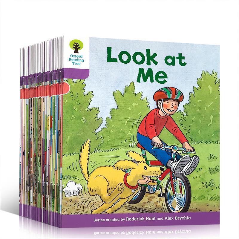 36 books /set Oxford Reading Tree Level hand book Helping Child to read Phonics English story Picture book