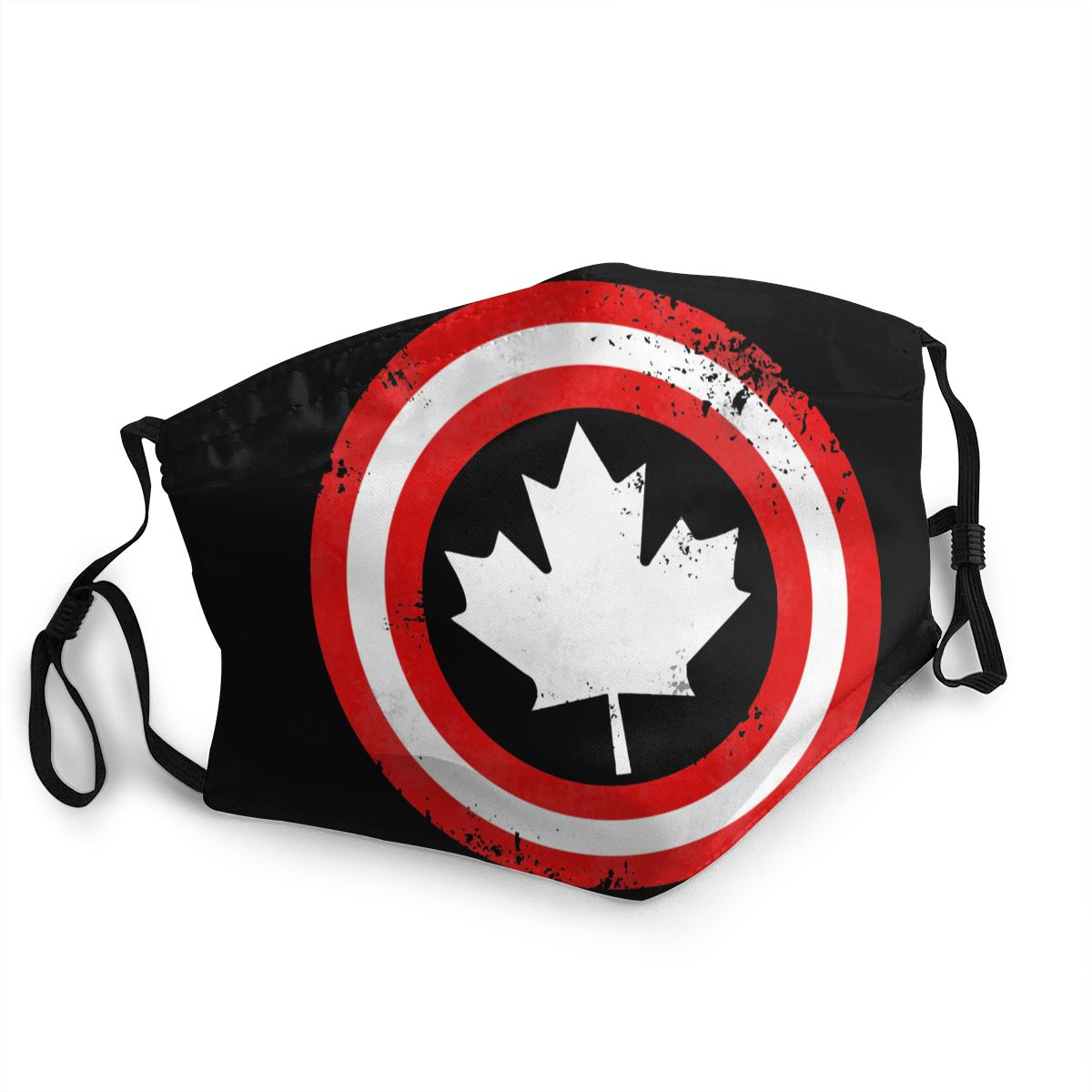 Captain Canada Non-Disposable Face Mask Superhero Anti Haze Dustproof Mask Thickened Protection Cover Respirator Muffle