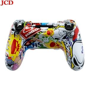 Image 4 - JCD สำหรับ PS4 เปลี่ยนซ่อมแซมเคสเชลล์สำหรับ PS4 Controller สำหรับ DualShock 4 สำหรับ PlayStation 4