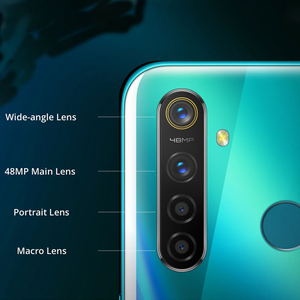 Image 4 - Eu バージョン oppo realme 5 プロ (RMX1971) 6.3 4/8 ギガバイト 128 ギガバイトの android 1080p オクタ · コア 4035 mah 48MP クワッドカメラ vooc 高速充電 3.0