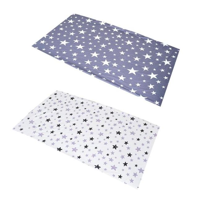 Baby Fitted Sheet Cotton Soft Crib Bed Sheet Baby Bed Cover Moisture Children Mattress Cover Protector Infant Soft Bedding
