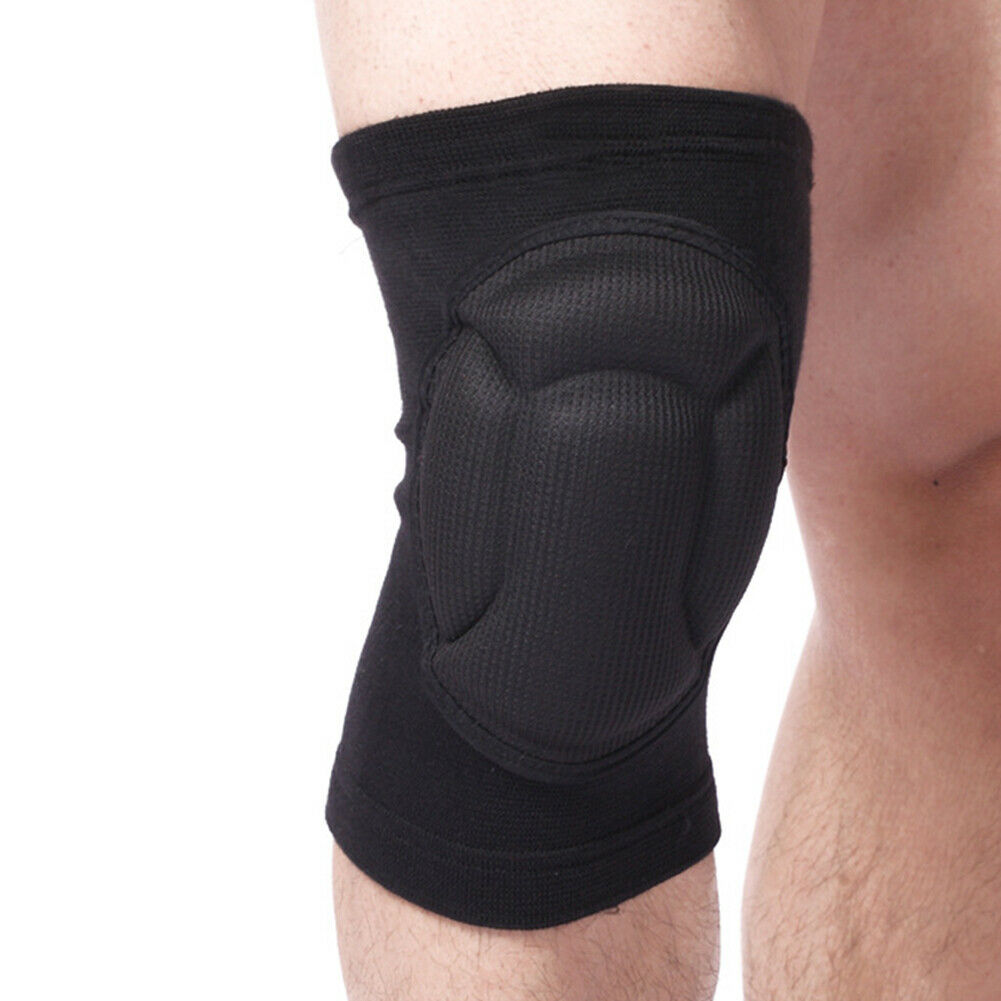 1 Pair Outdoor Sports Knee Pads Work Safety Joint Protector Arthritis Cycling Thickened Gardening Protective Gear Wrap Brace