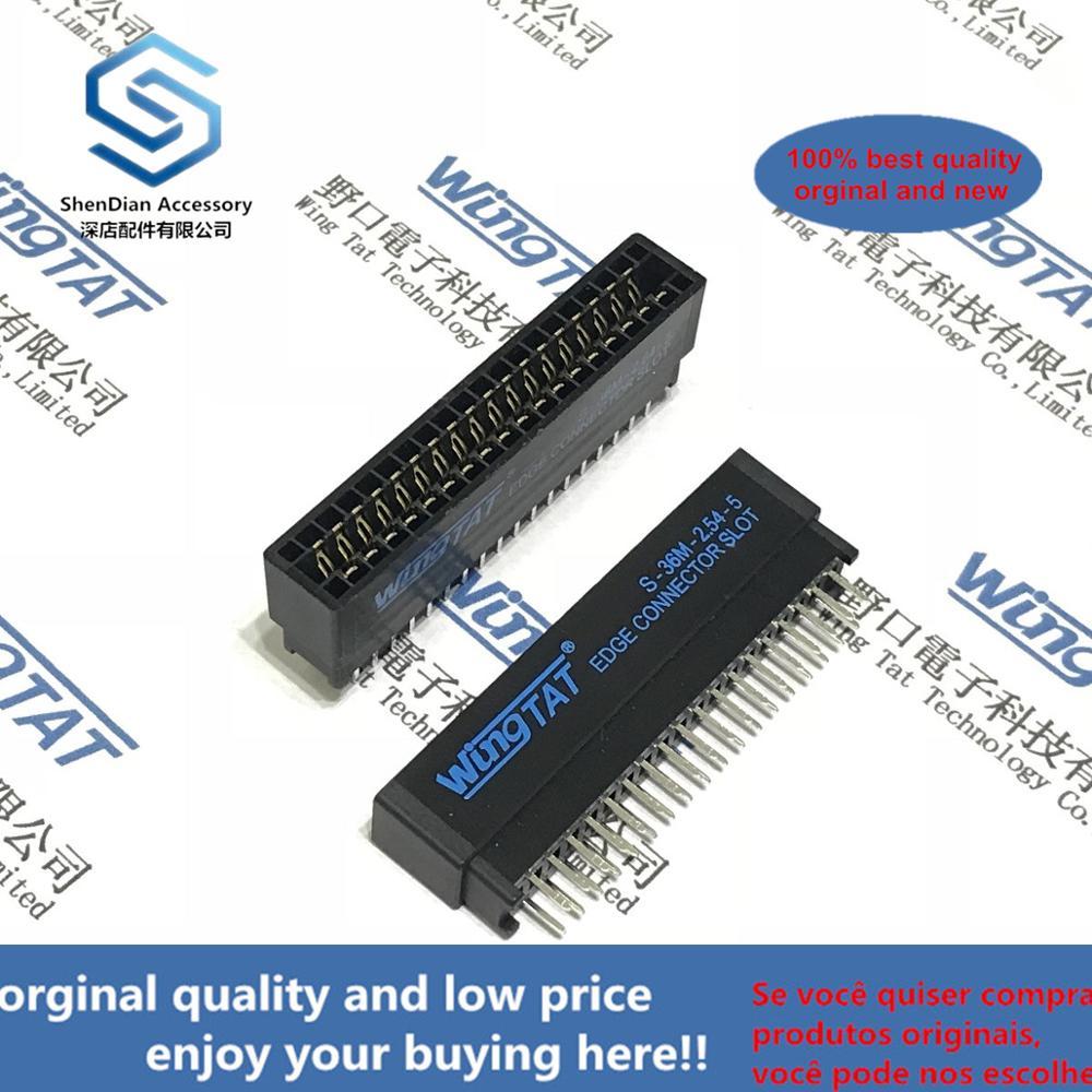 10pcs 100% Orginal And New S-36M-2.54-5 36P S-40M-2.54-5 40P S-62M-2.54-5 62P S-64M-2.54-5 64P  S-64M-2.54-5 64P Goldfinger Slot