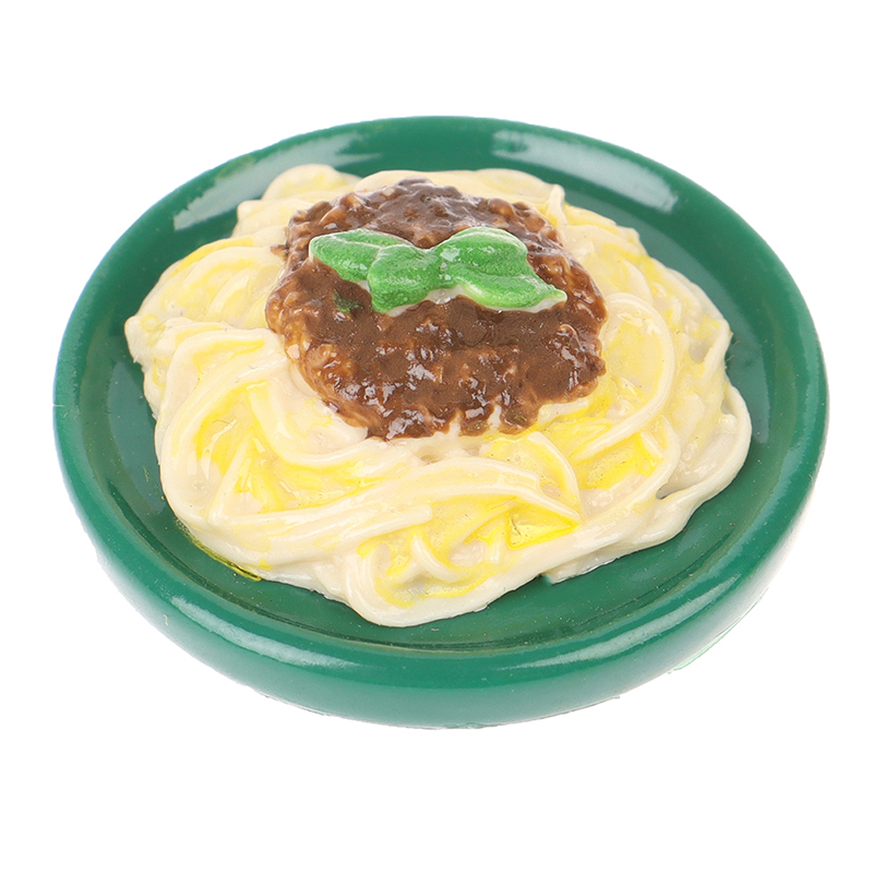 1:12 Mini Ature Dollhouse Noodles Syrup Bowl Mini Chinese Cuisine Pretend Play Food For Dollhouse Kitchen Toy