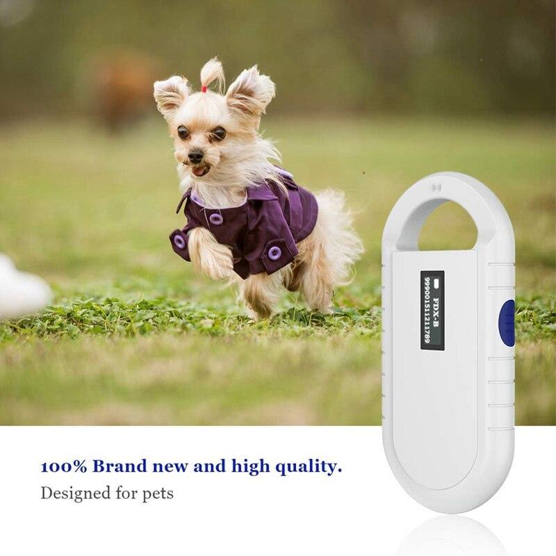 rfid tag reader cão leitor handheld de baixa frequência rfid