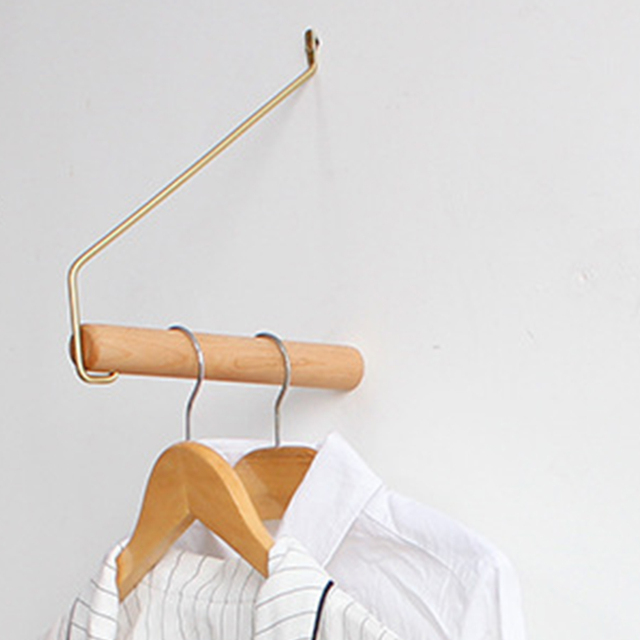 Crochet en bois pour décoration murale 1 pièce | Crochet décoratif en bois lisse, créatif, résistant à lusure, pour porte chambre mur salon chemise crochet décoratif