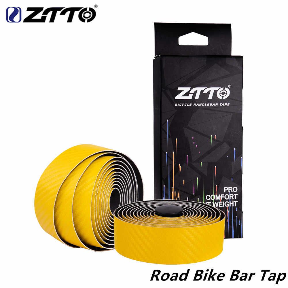 ZTTO route vélo ruban guidon EVA ruban en polyuréthane qualité durable antichoc route vélo barre haute ténacité Bartape avec tige plug BD3