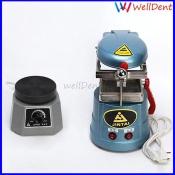 "Dental Lab Former Vacuum Forming Heat Molding Machine+vibrator Oscillator Round 4"" Dental Instrument"