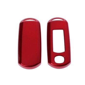 Auto Chiave Della Cassa Del Sacchetto Di Protezione Della Copertura Di Due O Tre Bottoni Per Mazda AXELA CX-5