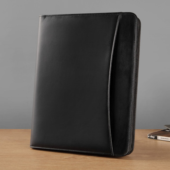A4 PU leather manila work business manager file folder organizer conference agreement folders course portfolio office supplies
