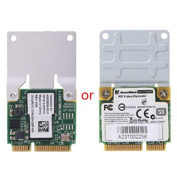BCM970012 BCM70015 karta dekodera Crystal HD AW-VD904 karta Mini PCIE do notebooków APPLE TV