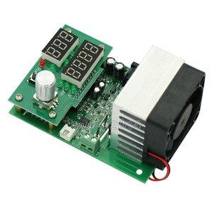 Image 2 - 60 واط 30 فولت 0 ~ 9.99A ثابت الحالي الإلكترونية تحميل LCD شاشة ديجيتال تفريغ البطارية قدرة متر تستر مع مروحة بالوعة الحرارة