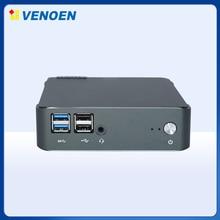 Venoen-miniordenador de escritorio de 10. ª generación, PC con procesador Core i7, Intel 10510U, hasta 4,9 GHz, 15W, USB3.0, 2DDR4, RAM, 64GB, M.2, SATA, NVME, Oficina