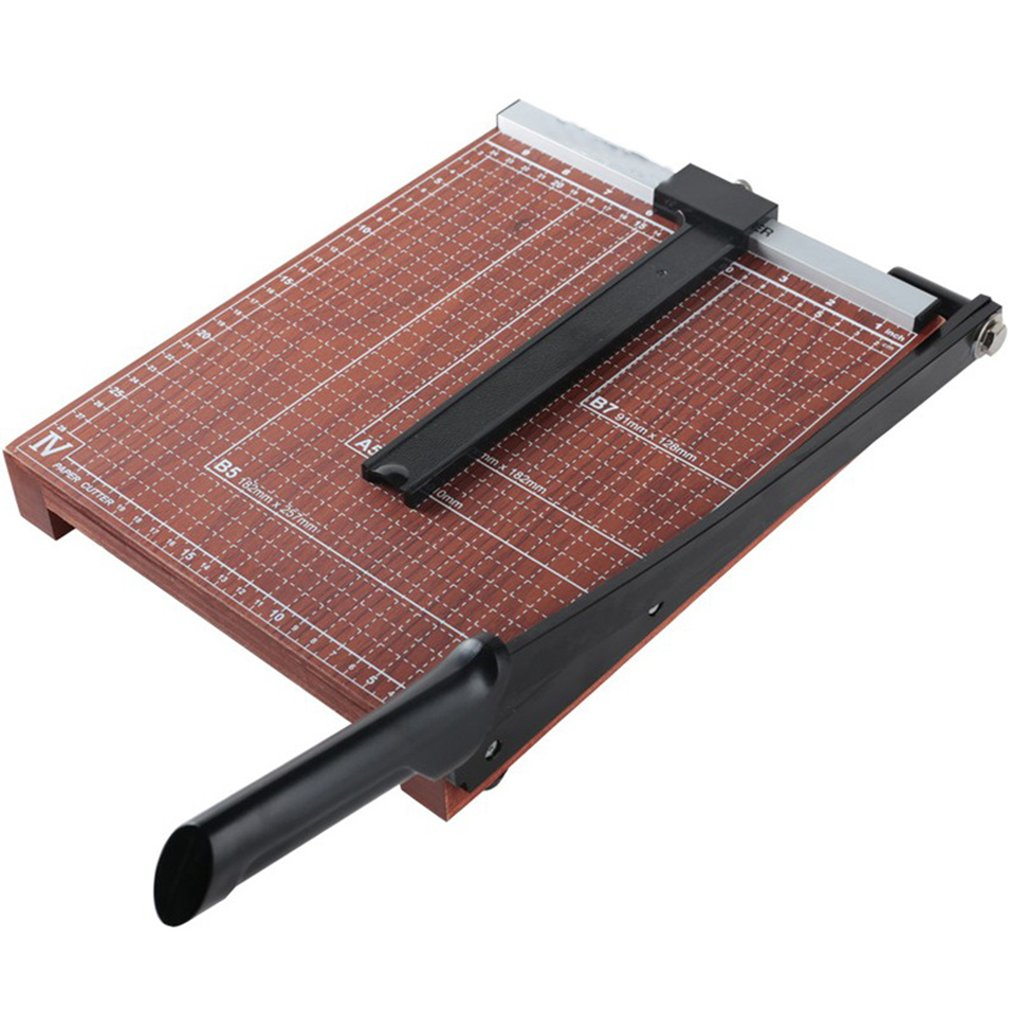 Multi-Function Art Special A4 Paper Cutter Wood Paper Cutter Office Paper Cutter Photo Paper Cutter Machine