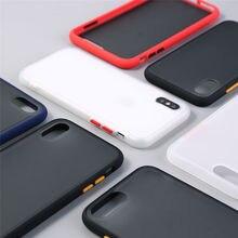 Прозрачный противоударный силиконовый чехол-рамка для iPhone X XS XR XS Max 11 Pro 11 Pro Max 8 7 Plus 6 6S Plus защитная задняя крышка