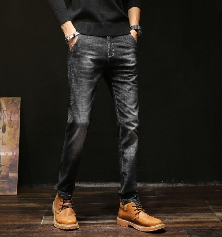2020 Spring New Arrival Top Quality Stretch Jeans Men Pants