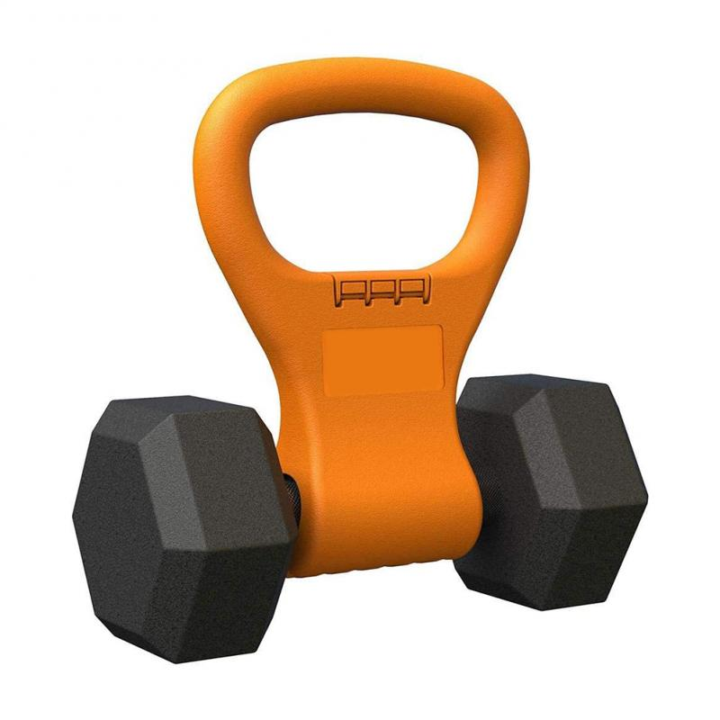 Fitness Adjustable Kettle Bell Kettlebell Grip Weight Exercise Easy Carry Men Women Crossfit Gym Bodybuilding Equipment Dumbbell