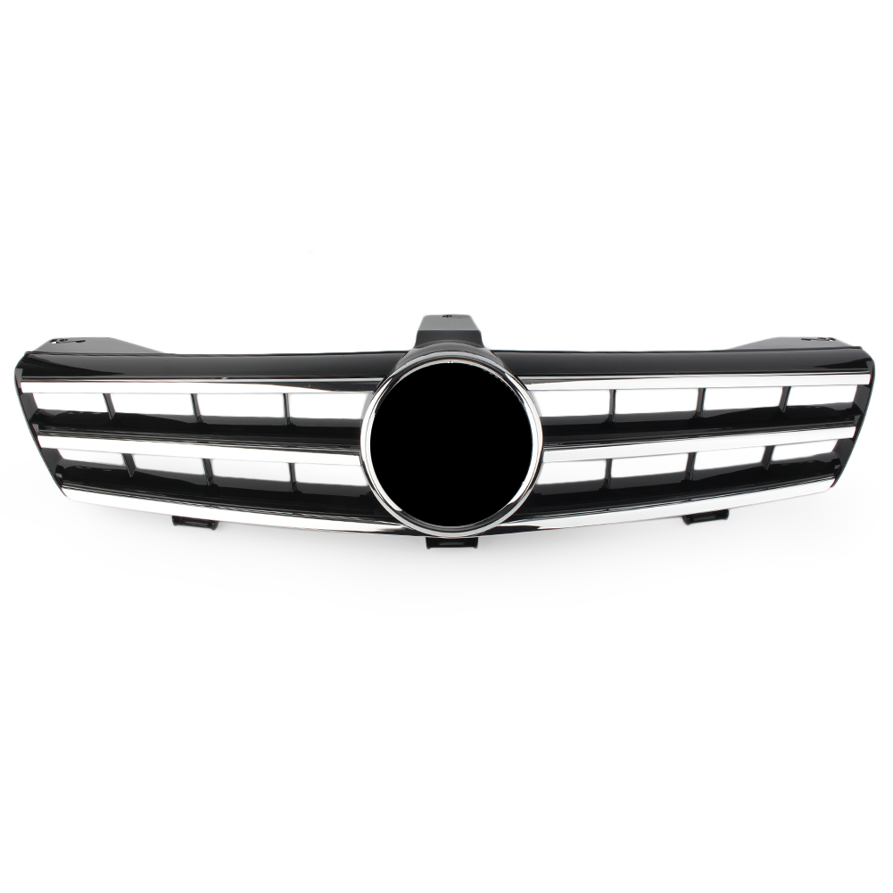 <font><b>W219</b></font> Auto Car Front Grille For Mercedes Benz GLS-Class CLS500 SLS600 2004 2005 2006 2007 Black ABS Plastic Upper <font><b>Grill</b></font> image