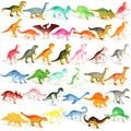 Модель мини-Динозавра 10 шт./лот, детские развивающие игрушки, маленькие фигурки животных, детские игрушки для мальчиков, подарок
