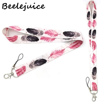 Leaves Women Mobile phone lanyard For keys ID Card Pass Gym USB badge holder DIY Hang Rope Tags Strap Neck Lanyard Strap flyingbee love story lanyards for keys id card pass gym mobile phone usb badge holder hang rope lariat lanyard x0079