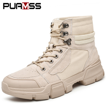 Men Desert Boots Casual Shoes Sneakers 2019 High Quality Tough Guy Outdoor Boots Shoes Men Botas De Hombre Zapatos De Hombre