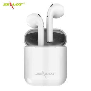 Image 1 - Zélot H20 TWS 5.0 Bluetooth casque écouteurs Mini sans fil écouteurs intra auriculaires avec boîte de charge