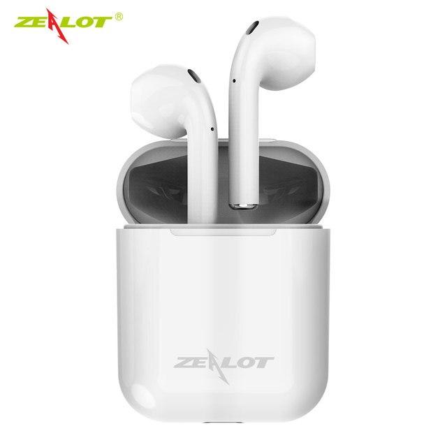 Zélot H20 TWS 5.0 Bluetooth casque écouteurs Mini sans fil écouteurs intra auriculaires avec boîte de charge