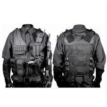 Odzież myśliwska Swat kamizelka taktyczna Swat kurtka skrzynia Rig multi-pocket molle Army CS kamizelka myśliwska akcesoria kempingowe