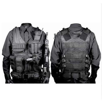 Hunting Security Clothes Swat Tactical Vest Swat Jacket Chest Rig Multi-Pocket  Molle Army CS Hunting Vest Camping Accessories