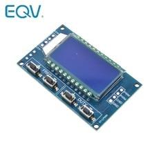 Module réglable d'affichage à cristaux liquides de Module de rapport de fréquence d'impulsion du générateur de Signal PWM 1Hz-150Khz 3.3 V-30 V Module de carte de PWM