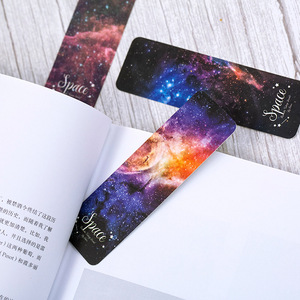 28 pcs/1 lot Girl Roaming space Paper bookmarks bookmarks for books/Share/book markers/tab for books/stationery