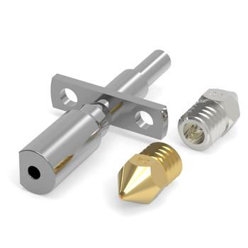 Części do drukarek 3D do drukarek 3D Zortrax M200 wytłaczarka gorący koniec z aluminiowym blokiem grzewczym drukarka 3d dysza 0 4Mm tanie i dobre opinie tmddotda CN (pochodzenie)
