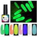 UR SUGAR 7,5 мл УФ Гель-лак для ногтей, ночное свечение ногтей в темноте Гель-лак люминесцентные светящиеся Lucky Лаки замочить от УФ-светодиодный н...