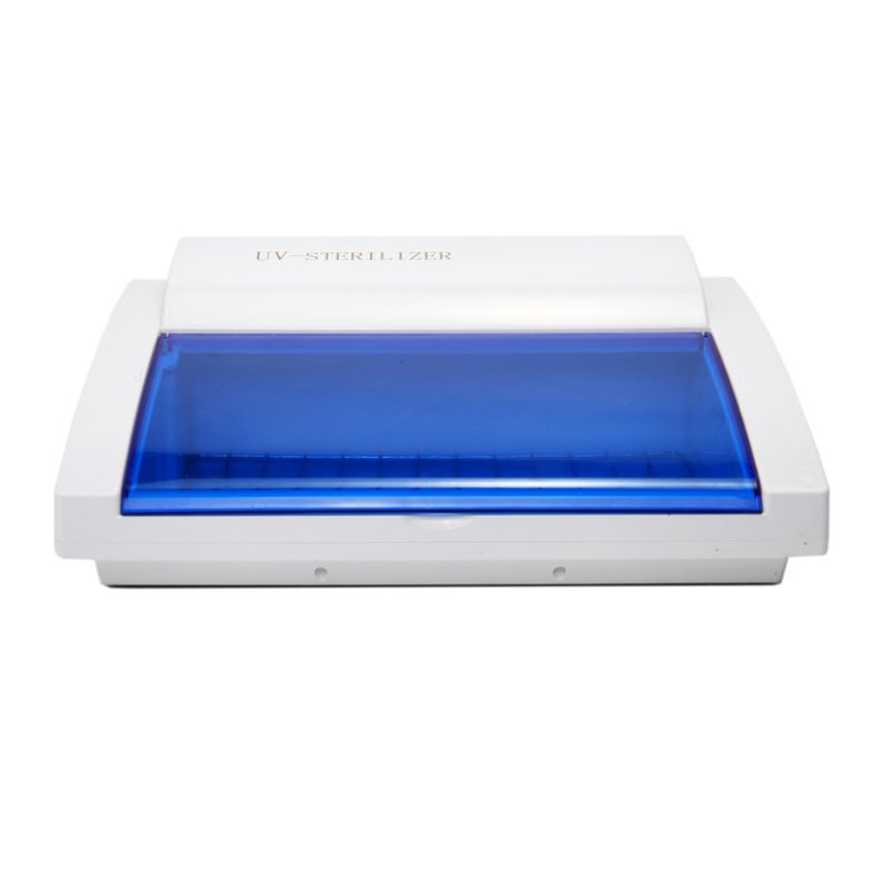 EU Plug UV Sterilizer Machine Bevel Disinfection Cabinet Manicure Disinfection Disinfecting Box Professional Cleaning Tool