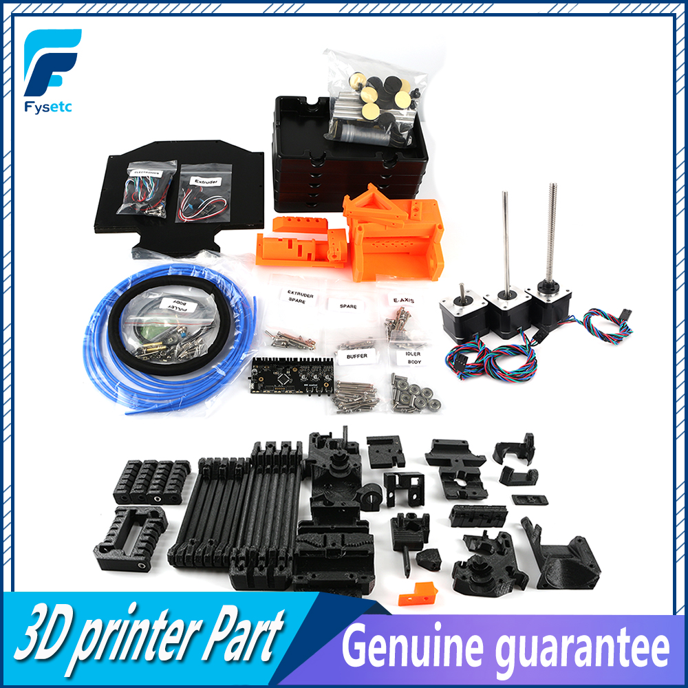 Image 4 - Clone Prusa i3 MK2.5S MK3S MMU2S Complete Kit Including Printing Parts For Prusa i3 MK2.5S/MK3S Multi Material 2S Upgrade Kit3D Printer Parts & Accessories   -