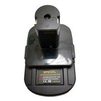 Adaptador de Bateria Para Black & Decker BPS18RL Para Stanley Para Porter Cable 20V Bateria De Lítio Para Ryobi 18V p108 Bateria